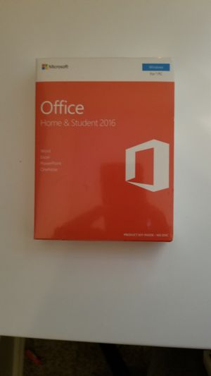 Microsoft Office 2016 for Sale in Corpus Christi, TX