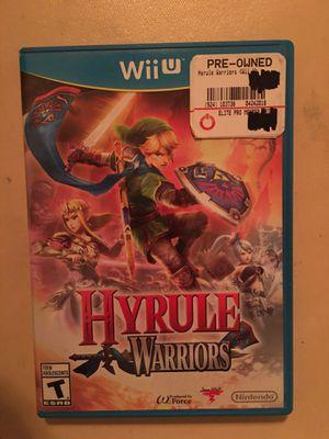 Nintendo Wii U hyrule warriors for Sale in Visalia, CA