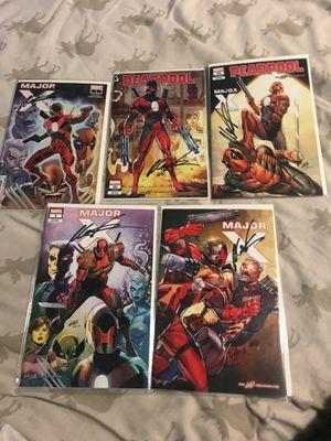 Marvel major x/dead pool comics for Sale in Norwalk, CA
