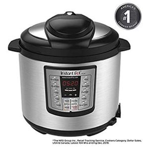 Instant Pot LUX60V3 V3 6 Qt 6-in-1 Multi-Use Programmable Pressure Cooker, Slow Cooker, Rice Cooker, Sauté, Steamer, and Warmer for Sale in Nashville, TN