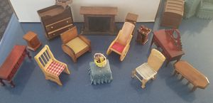Antique Wood Furniture for Doll House - Miniature for Sale in Perris, CA