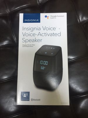 Insignia Voice - Voice-Activated Speaker for Sale in Gaithersburg, MD