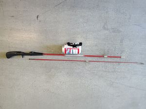 "Budweiser ""Your Fishing Bud"" Fishing Pole & Reel by Johnson for Sale in Manteca, CA"