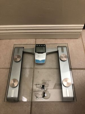 Glass bathroom scale for Sale in West Covina, CA