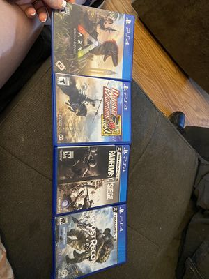 Ps4 games for Sale in Canyon, TX