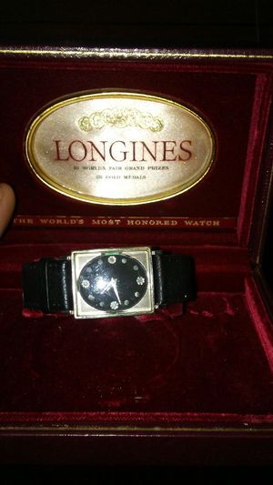 Longines collectors item watch for Sale in Grosse Pointe Park, MI