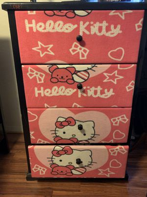 Hello kitty drawer for Sale in Anaheim, CA