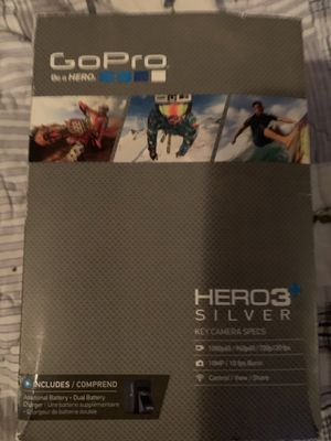 GoPro hero3 silver edition for Sale in Walkertown, NC