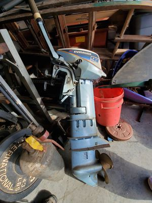 Evinrude 9.9 hp long shaft outboard motor for Sale in EASTAMPTN Township, NJ