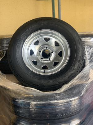 205/75r15 galvanized rim and tire boat trailer for Sale in Pompano Beach, FL