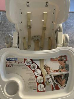 pegperego high chair prima pappa best for Sale in Santa Cruz,  CA