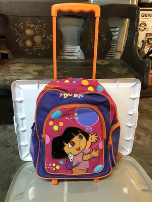 Dora the explorer suitcase/backpack for Sale in Columbus, OH