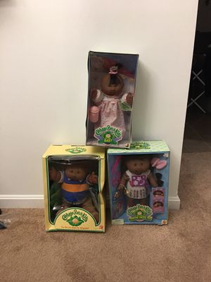 Genuine Cabbage Patch Dolls !!! Excellent Condition for Sale in Washington, DC