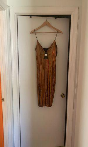 Metallic sexy gold club dress for Sale in Upper Marlboro, MD