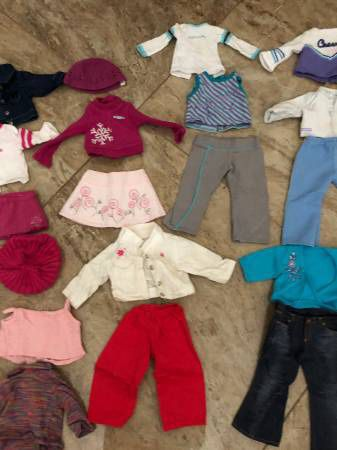 American girl doll clothes/no dolls just clothes/ lot