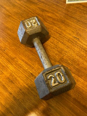20lb weight dumbbell for Sale in Pasadena, CA