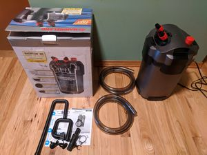 Marineland 360 canister filter for fish tank aquarium up to 100 gallons for Sale in Chicago, IL