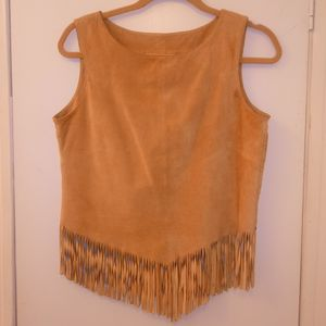 Genuine Leather Fringe Top for Sale in Wilmington, NC