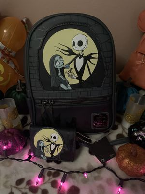 The nightmare before Christmas loungefly backpack for Sale in Pittsburg, CA
