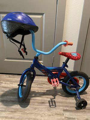 Kids bike with helmet for Sale in Frisco, TX