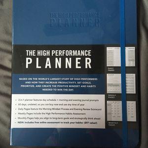The High Performance Planner by Brendon Burchard for Sale in Stockbridge, GA