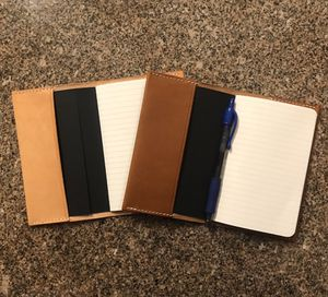 """Brown Leather Cover for 3.5"""" x 5.5"""" Journal for Sale in Spring, TX"""