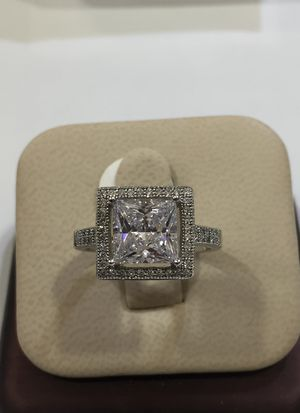 925 Silver CZ ladies ring for Sale in Carrollton, TX