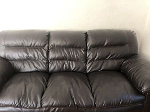 , Queen SIZE Bed Frame, Dresser, mirror ,Couch, lounge chair for Sale in St. Louis, MO