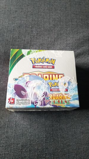 Pokemon roaring skies booster box for Sale in Everett, WA