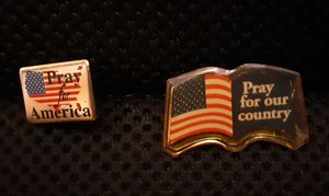 Patriotic lapel pins for Sale in Mount Nebo, WV