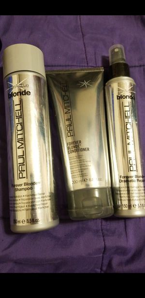 PAUL MITCHELL FOREVER BLONDE PACK for Sale in Sanger, CA