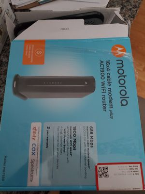 Motorola Router for Sale in DORCHESTR CTR, MA