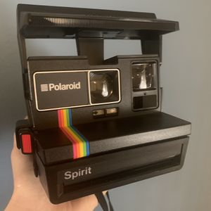 Polaroid OneStep 600 Instant Film Camera with Rainbow Stripe for Sale in Los Angeles, CA