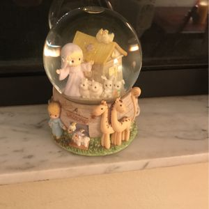 Precious Moments Snowglobe for Sale in Tampa, FL