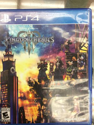 Kingdom hearts 3 PS4 for Sale in New York, NY