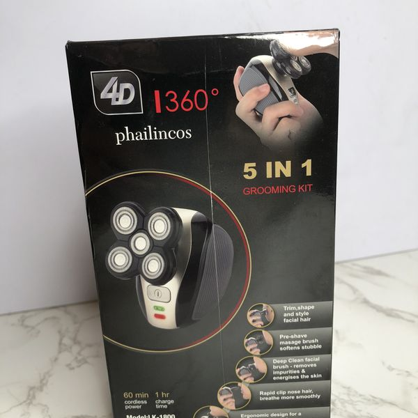 """New - Open Box"" - Belita Amy 4D Phailincos i360 LK-1800 5 In 1 Grooming Kit NEW"