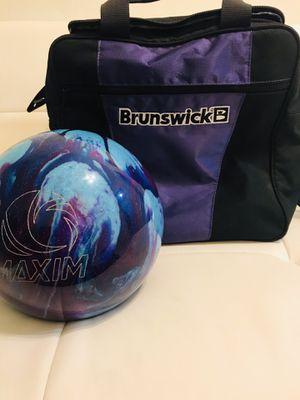 Maxim space bowling ball for Sale in Miami Beach, FL