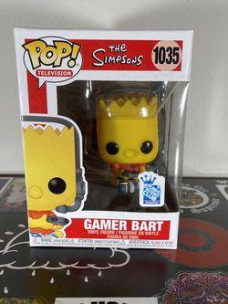 Funko Pop Simpsons - Gamer Bart for Sale in Bellevue,  WA