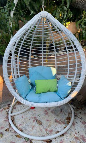 Wicker egg chair for Sale in Baldwin Park, CA