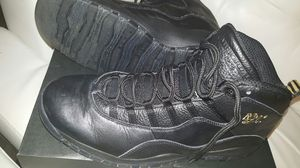 Air Jordan Retro 10 NYC Black/Black for Sale in Atlanta, GA