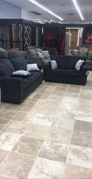 🍻New Ashley Altari Slate Living Room Set / Couches☆Sofa & Loveseat included☆Chair and Ottoman sold separately💥39 DOWN PAYMENT🍻 for Sale in Houston, TX