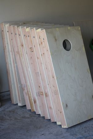Unfinished corn hole boards. for Sale in Martinsburg, WV