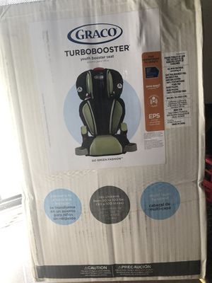 New in box Graco Turbo booster car seat for Sale in Rancho Cucamonga, CA