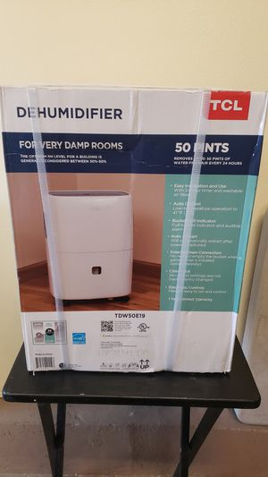 TCL 50 Pint Dehumidifier (New in Sealed Boxes) for Sale in South El Monte, CA