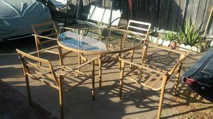 PATIO FURNITURE 5PC for Sale in Los Angeles, CA