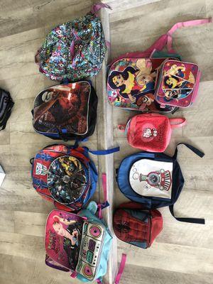 Misc back packs for Sale in Bonita, CA