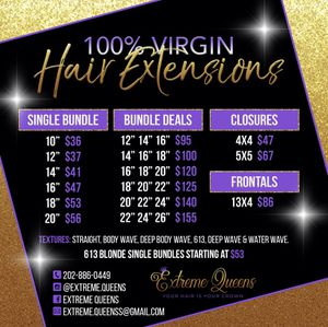 Straight/Body wave bundles for Sale in Forest Heights, MD