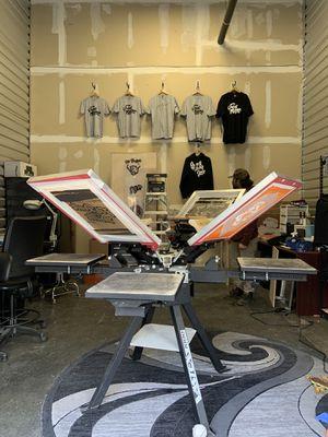 Screen printing set up vastex v-1000 for Sale in Rancho Cordova, CA