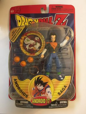 Dragon Ball Z Android 17 Irwin Toys 2000 Androids Saga Deluxe Action Figure NEW IN PACKAGE!!! for Sale in Orlando, FL