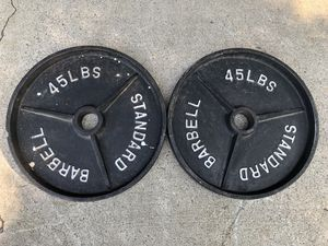 45lb Olympic Weights for Sale in Modesto, CA